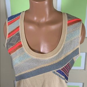 Escada sport sweater vest sleeveless new w/o tag L